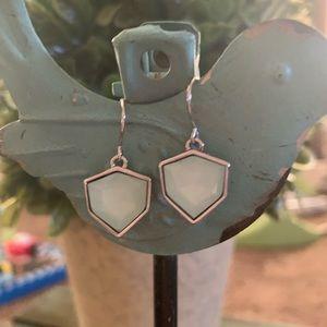 Chloe + Isabel light blue earrings